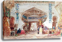 Постер Bazaar in Constantinople