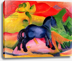 Постер Марк Франц (Marc Franz) Little Blue Horse, 1912