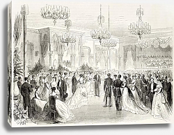 Постер Grand Bal given to Egypt viceroy in Alexandria. Created by Pauquet and Cosson-Smeeton, published on