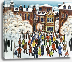 Постер Недельчев Ради (совр) Winter Day in the City, 1975