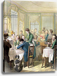Постер Оптиц Джордж The Restaurant in the Palais Royal, 1831