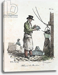 Постер Верне Антуан The Lamplighter, engraved by Francois Seraphin Delpech
