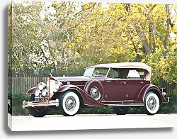 Постер Packard Custom Twelve Sport Phaeton by Dietrich (1006) '1933