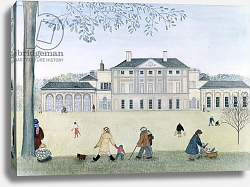 Постер Лоусон Джиллиан (совр) Kenwood House