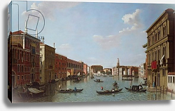 Постер Джеймс Уильям The Grand Canal and San Geremia, Venice, 18th century