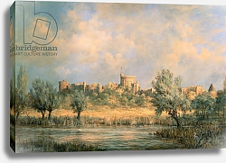 Постер Уиллис Ричард Windsor Castle: from the River Thames