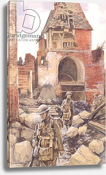 Постер Фламенг Франсуа British Soldiers in the Ruins of Peronne, 1917