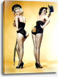 Постер Monroe, Marilyn (Gentlemen Prefer Blondes)