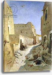 Постер Фроментин Евген The Bab-El-Gharbi Road, Laghouat, 1859