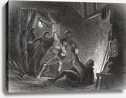 Постер Уоррен Генри (грав) Death of the Earl of Desmond, from 'The History of Ireland' by Thomas Wright, published c.1854