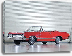 Постер Oldsmobile Cutlass 442 Convertible '1965