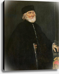 Постер Тинторетто Джакопо Portrait of the Procurator Nicolo Priuli