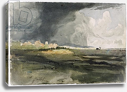 Постер Палмер Самуэль At Hailsham, Sussex: A Storm Approaching, 1821