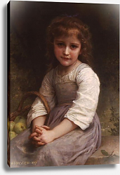 Постер Бугеро Вильям (Adolphe-William Bouguereau) Яблоки 2