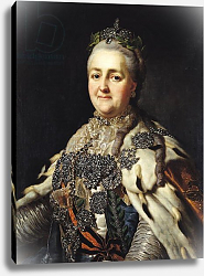 Постер Рослин Александр Portrait of Catherine II of Russia 2