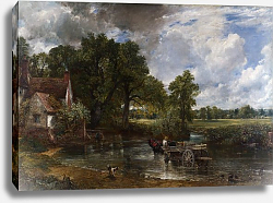 Постер Констебль Джон (John Constable) The Hay Wain