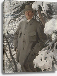 Постер Цорн Андерс The painter Bruno Liljefors, 1906