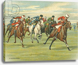Постер Байлс Уильям Races Historic and Modern, Cossack Horse Races