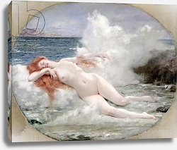Постер Джервекс Уильям The Birth of Venus, c.1896