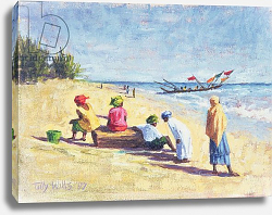 Постер Уиллис Тилли (совр) The Beach at Abene, Senegal, 1997