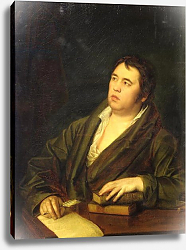 Постер Волков Роман Portrait of the poet Ivan A. Krylov, 1812