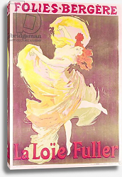 Постер Шере Жюль Poster advertising Loie Fuller at the Folies Bergere, 1897