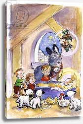 Постер Мэттьюз Диана (совр) Away in a Manger, 1996