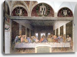 Постер Леонардо да Винчи (Leonardo da Vinci) The Last Supper, 1495-97 2