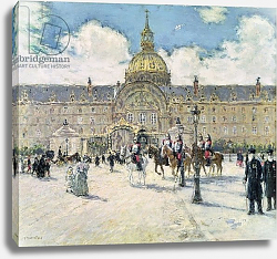 Постер Рафаэлли Жан-Франсуа  The Hotel des Invalides