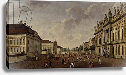 Постер Фешхельм Карл Т. View of the armory and Unter den Linden Street, 1786