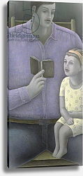 Постер Эдиналл Рут (совр) Man reading to Girl, 2003