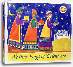 Постер Бакстер Кэти (совр) We Three Kings of Orient Are