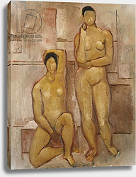Постер Вуд Кристофер Seated and Standing Nudes, 1972