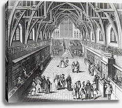 Постер Гравелот Юбер Westminster Hall, The First Day of Term, A Satirical Poem, 1797 engraved by C.Mosley