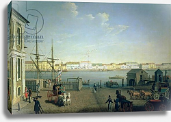 Постер Патерсон Бенджмин English Shore Street in St Petersburg, 1790s