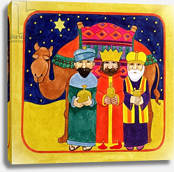 Постер Бентон Линда (совр) Three Kings and Camel