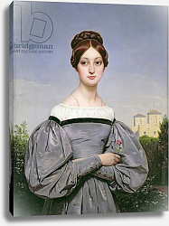 Постер Верне Эмиль Portrait of Louise Vernet Daughter of the Artist