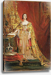 Постер Хейтер Джордж Queen Victoria Taking the Coronation Oath, 28th June 1838