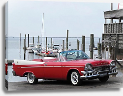 Постер Dodge Coronet Super D-500 Convertible '1958