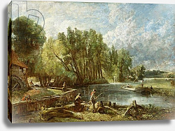 Постер Констебль Джон (John Constable) The Young Waltonians - Stratford Mill, c.1819-25