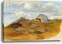 Постер Рейнхолд Хайнрих View of Civitella, 1822