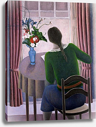 Постер Эдиналл Рут (совр) Woman at Window, 1998
