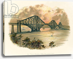 Постер Уилкинсон Чарльз The Forth bridge, from the south-east