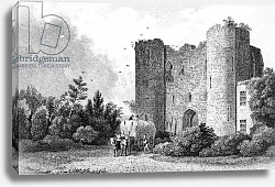 Постер Байнс Томас Tunbridge Castle, Kent, engraved by S. Lacey, 1831