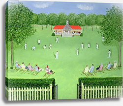 Постер Баринг Марк (совр) The Cricket Match, 1981