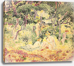Постер Кросс Анри Nudes in a Wood, 1905