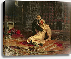 Постер Репин Илья Ivan the Terrible and his Son on the 16th November, 1581, 1885