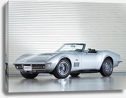 Постер Corvette Stingray L71 427 Convertible (C3) '1969
