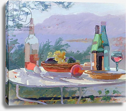 Постер Баттерфилд Сара (совр) Still Life and Seashore, Bandol