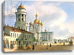 Постер Перро Фердинанд The Virgin of Vladimir Church in St. Petersburg, c.1840